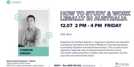 How To Study & Work Legally in Australia tickets