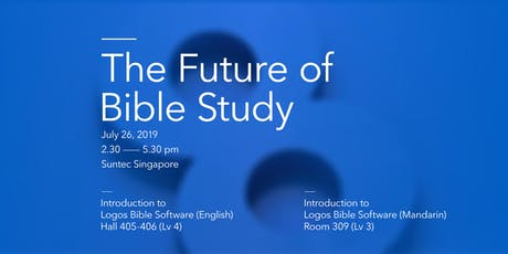 The Future of Bible Study (English and Mandarin) tickets