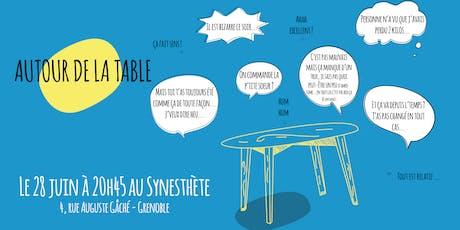 Autour de la table // Spectacle improvisé billets