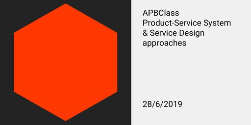 APBClass: Product-Service System and Service Design approaches