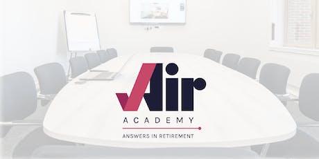 Air Academy - Pensions & Savings Module tickets