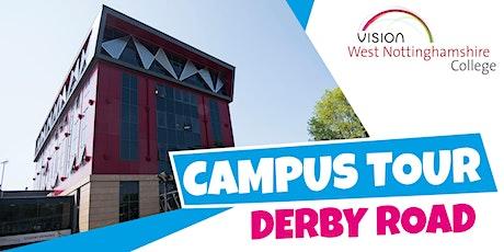Campus Tour - Derby Road Campus tickets