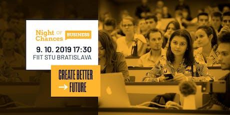 Night of Chances Business Bratislava 2019 tickets