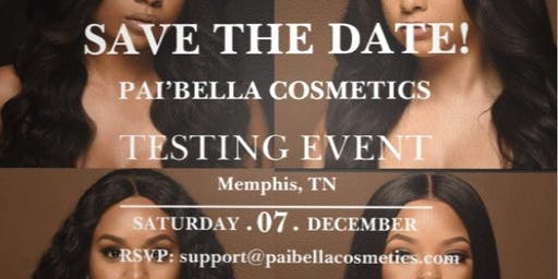 Pai'Bella Cosmetics Testing Event