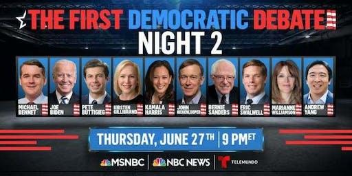 Democratic Debate Watch Party Night 2