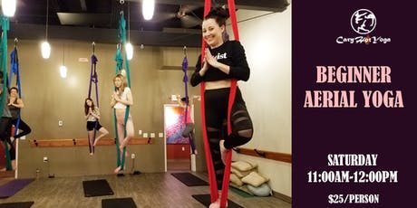 Beginner Aerial Yoga Class tickets