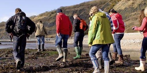 Teenager Tide Walk