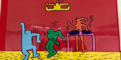 SUMMER ART WORKSHOP: Keith Haring tickets