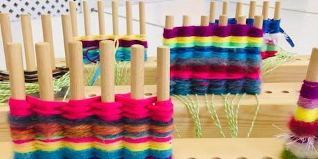 SUMMER ART WORKSHOP: Weaving tickets