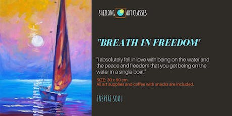 BREATH IN FREEDOM-oil painting workshop tickets