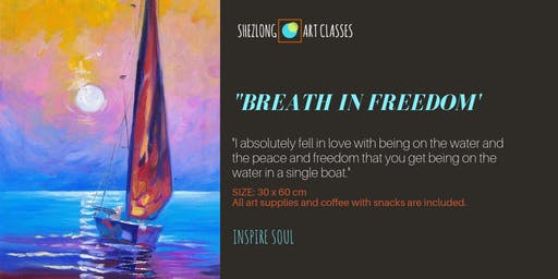 BREATH IN FREEDOM-oil painting workshop