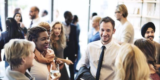 Business startup event with networking in central Birmingham