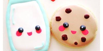 The Cookie Shop - Aula de Biscoitos Decorados - Módulo 1/ Julho