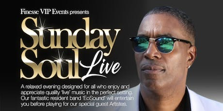 Sunday Soul Live with Cornell C.C.Carter tickets