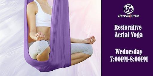Beginner Restorative Aerial Yoga