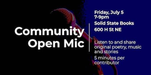Community Open Mic