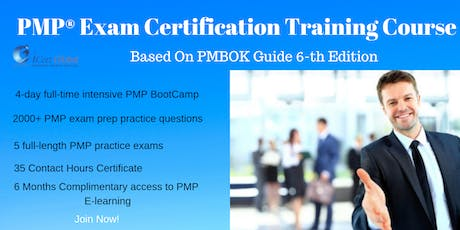 PMP® Exam Prep Training and Certification in Edmonton, AB, USA | 4-day (PMP) Boot Camp Training in 2019 tickets
