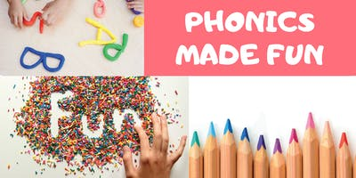 Messy, fun phonics for rising year 1's