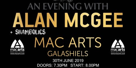 An evening with Alan McGee (Creation Records) + special guests Shambolics tickets