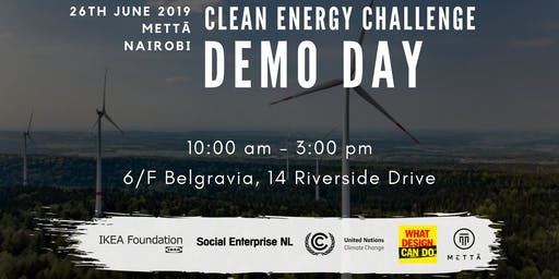 Clean Energy Challenge Demo Day