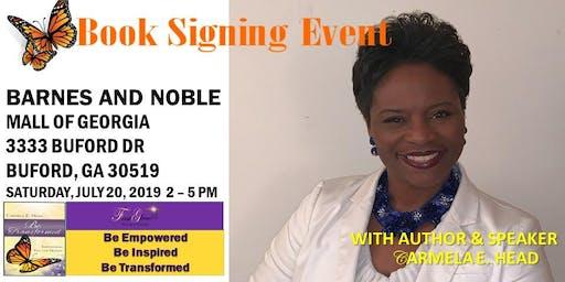 Carmela E. Head, Author & Speaker, Book Signing Event at Barnes & Noble- Mall of Georgia (Buford, GA - Atlanta Area)