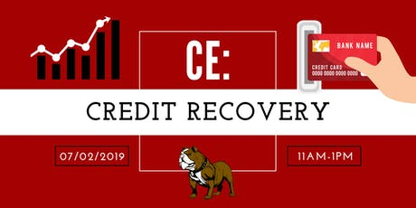 CE: Credit Recovery tickets