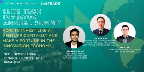 ELITE TECH INVESTOR SUMMIT- How to Leverage on the Tech Super Convergence tickets