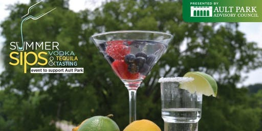 Summer Sips - a Vodka & Tequila Tasting to Support Ault Park