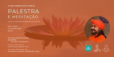 Yoga, Ayurveda e Espiritualidade - monge em Rio Grande