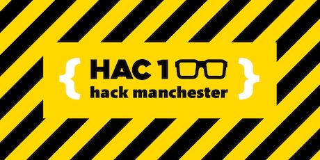 HackManchester 2019 tickets