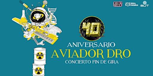 AVIADOR DRO concierto fin de gira 40ª aniversario en Madrid (Ochoymedio)