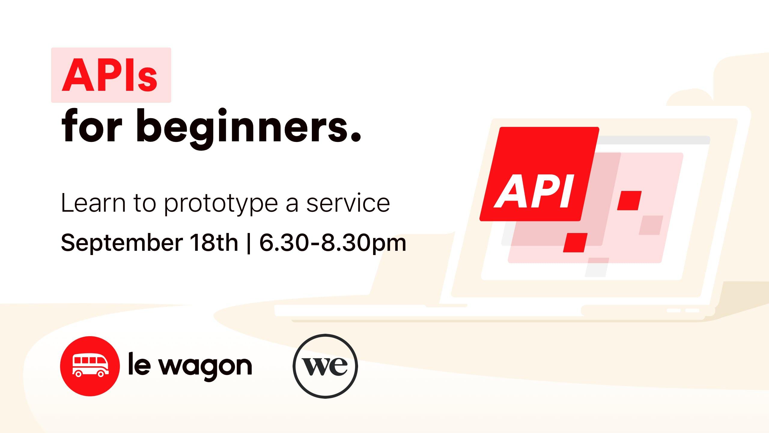 API for Entrepreneurs