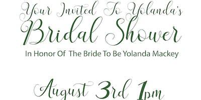Yolanda Mackey's Bridal Shower
