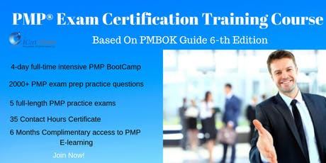 PMP®(Project Management) Exam Prep Training and Certification in Colorado Springs, CO, USA   4-day PMP Boot Camp Training in 2019 tickets