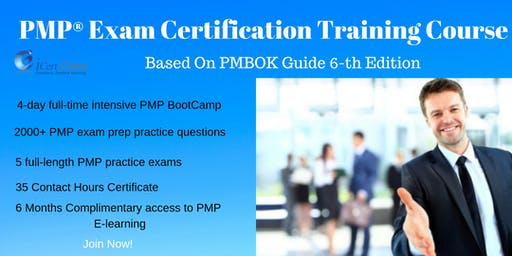 PMP® Exam Prep Training and Certification in Colorado Springs, CO, USA | 4-day PMP Boot Camp Training in 2019