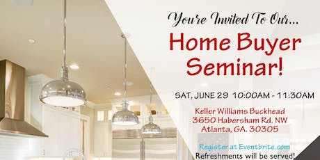 Home Buyers Seminar -FREE tickets