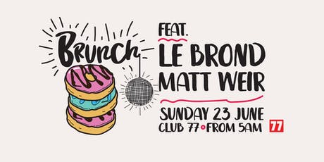 Brunch ft Le Brond tickets