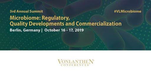3rd Annual Microbiome: Regulatory, Quality Developments and Commercialization Summit