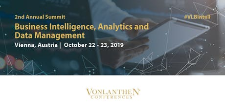 2nd Business Intelligence, Analytics and Data Management Summit tickets