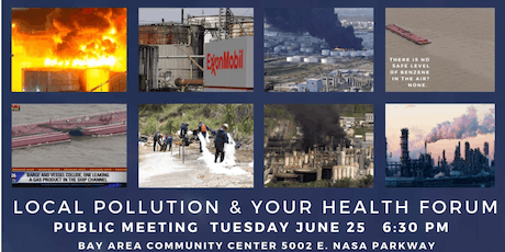 Local Pollution and Your Health - A Public Forum tickets