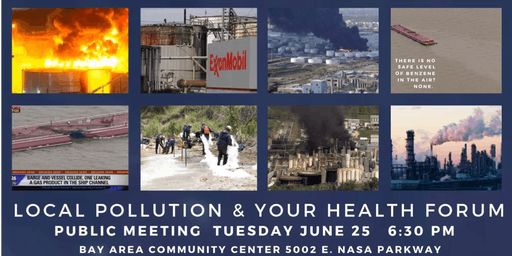 Local Pollution and Your Health - A Public Forum