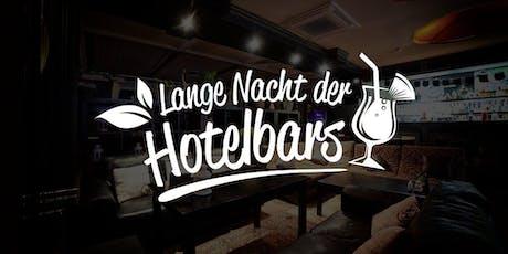 Die lange Nacht der Hotelbars Leipzig 2019 Tickets