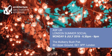 ASF-UK - London Summer Social tickets