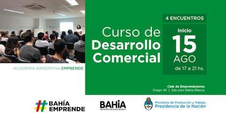 """AAE en Club de Emprendedores- """"Curso de Desarrollo comercial"""" -Bahía Blanca, Prov. Buenos Aires. entradas"""
