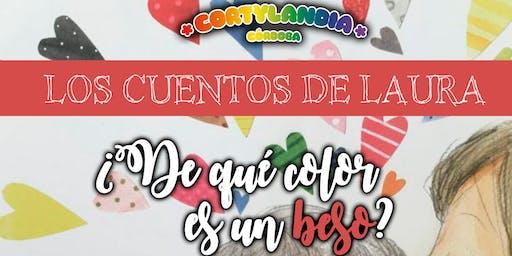 """LOS CUENTOS DE LAURA """"¿De qué color es un beso?"""" · (Reserva)"""