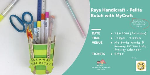 Raya Handicraft - Pelita Buluh with MyCraft