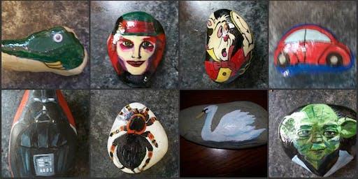 Stone Painting Workshop