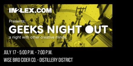 July Geeks Night Out tickets