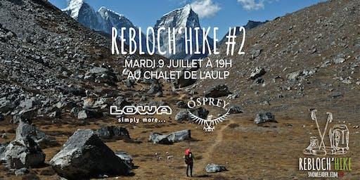 Rebloch'Hike #2 Osprey et LOWA