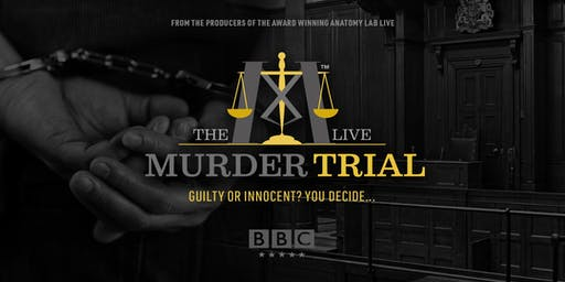 The Murder Trial Live | AMSTERDAM 16/10/19